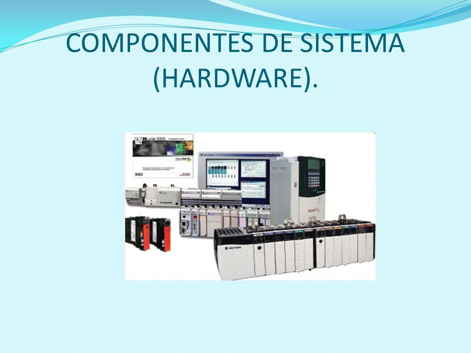 COMPONENTES DE SISTEMA (HARDWARE).