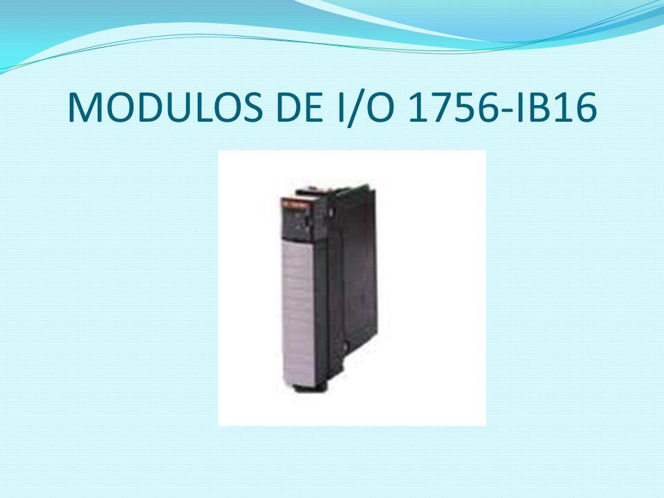 MODULOS DE I/O 1756-IB16