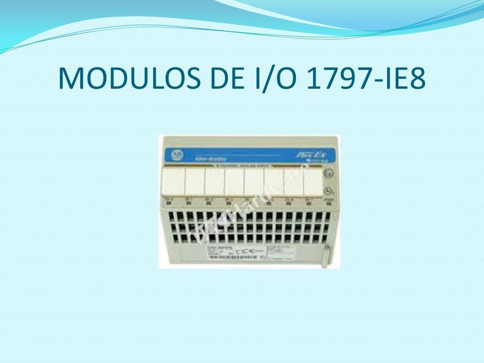 MODULOS DE I/O 1797-IE8