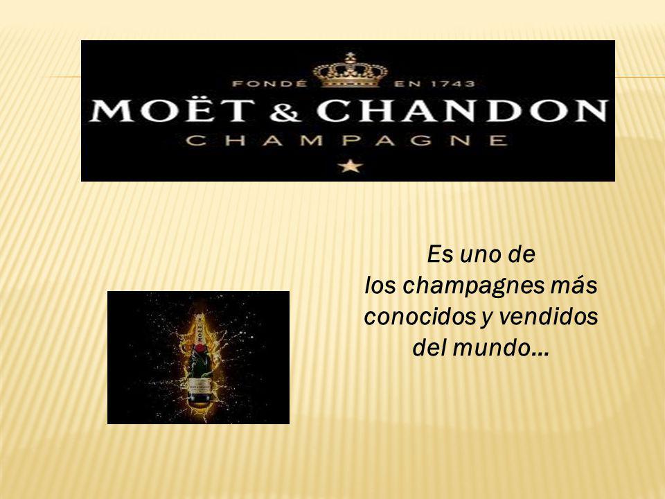 Es uno de los champagnes más conocidos y vendidos del mundo…