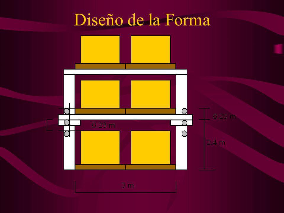 DISEÑO ESTRUCTURAL DE PERCHAS Diseño de la Forma Diseño de Vigas Diseño de Columnas Diseño de Pasadores Diseño de Pernos Regresar