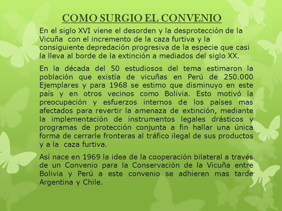 El convenio es evaluado en 1979, resolviéndose celebrar uno nuevo, esta vez de carácter multilateral en el que se sumo la Republica del Ecuador como nuevo miembro por haber sustentado que su territorio fue parte de la antigua distribución de la especie y con miras a repoblarlo.