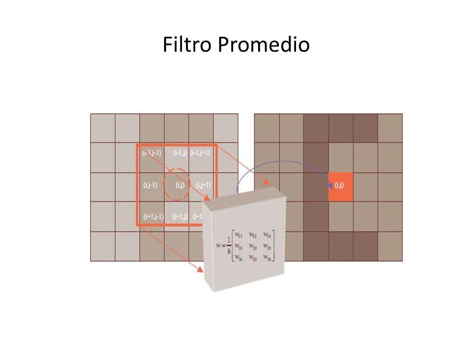 Ej. Filtro Promedio