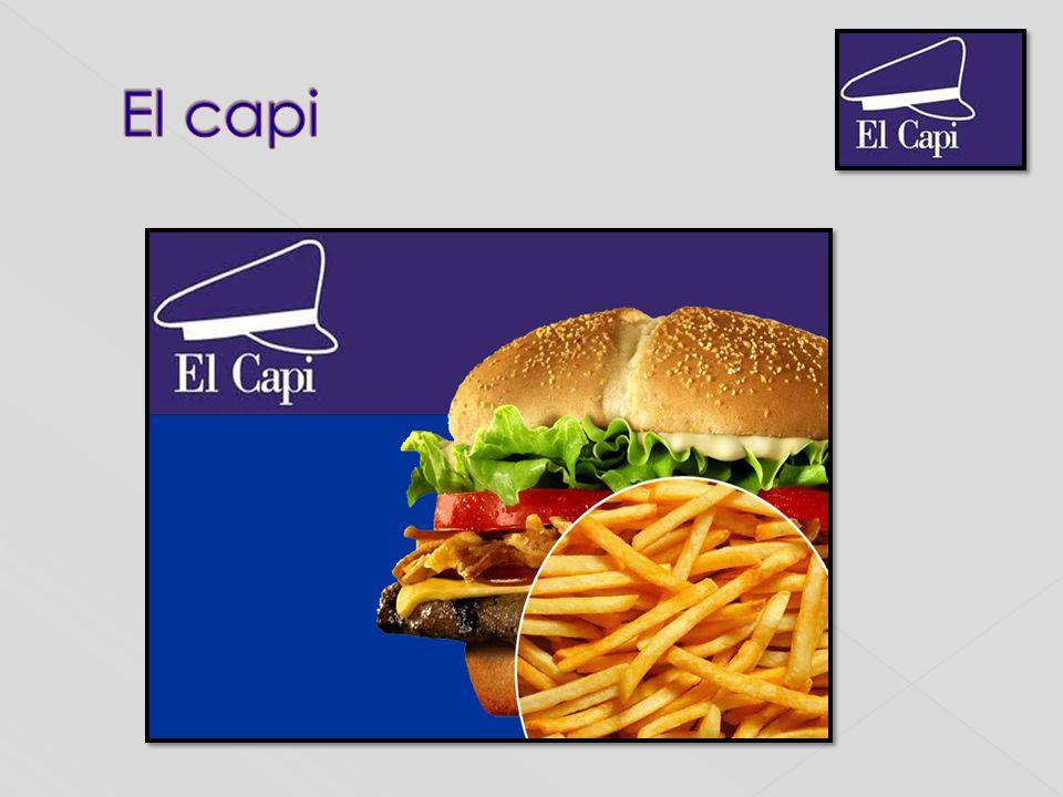 Nuestro trabajo se obtuvo en la investigación de un restaurante de comidas rápidas llamado el El Capi.
