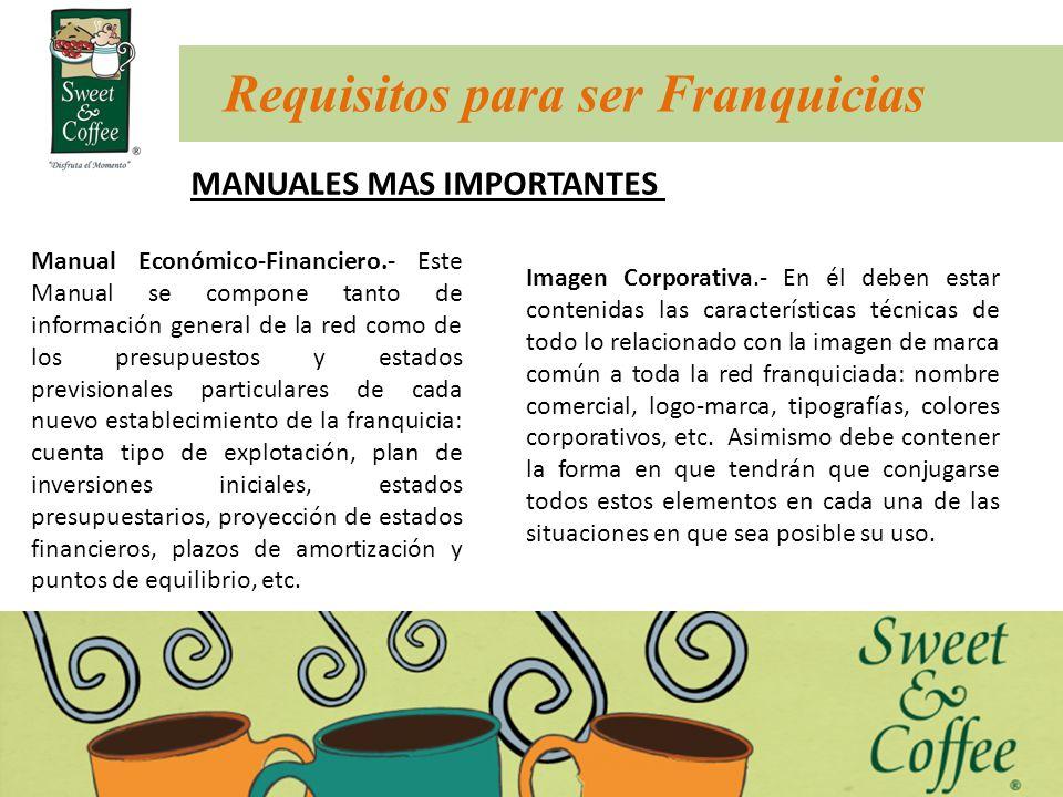 Manual Económico-Financiero.- Este Manual se compone tanto de información general de la red como de los presupuestos y estados previsionales particula
