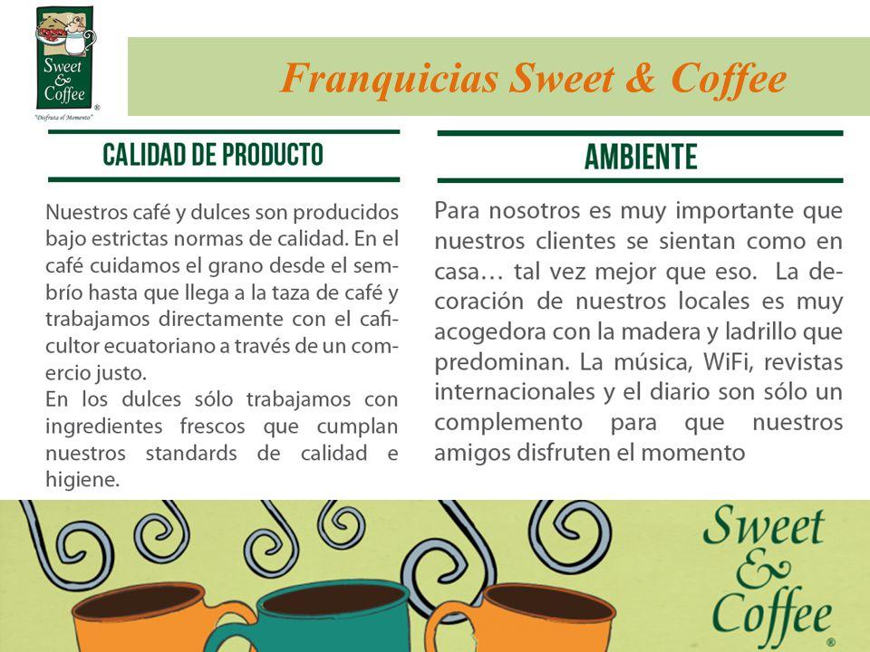Franquicias Sweet & Coffee