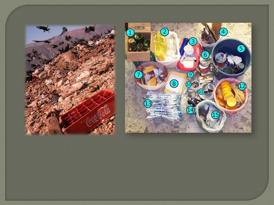 Reducir la cantidad de residuos generada Reintegración de los residuos al ciclo productivo Canalización adecuada de residuos finales Poder reciclar un
