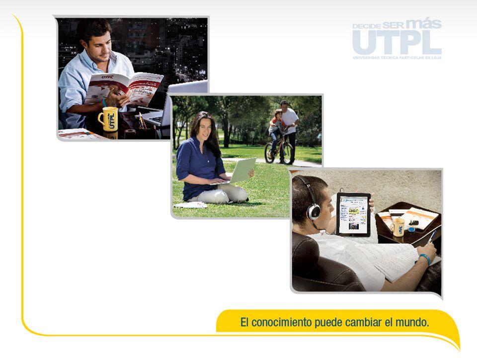 PARA MAYOR INFORMACIÓN callcenter@utpl.edu.ec www.utpl.edu.ec/decidesermas 1800-8875 8875 07 2588730 - 2570275 Consulta en el centro universitario de tu ciudad.