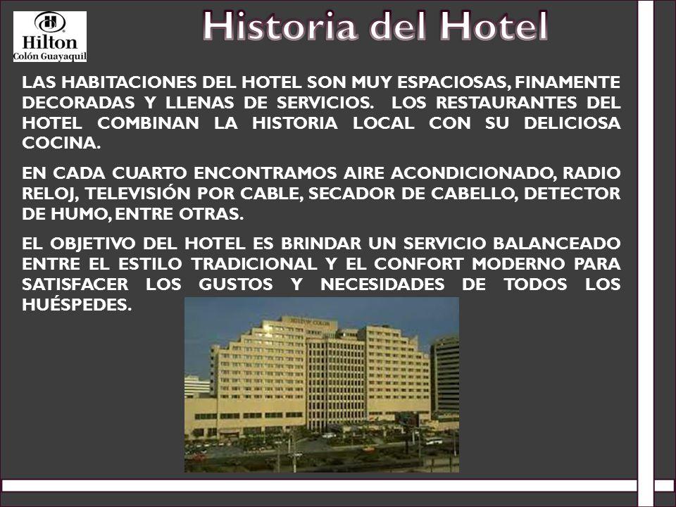 LAS HABITACIONES DEL HOTEL SON MUY ESPACIOSAS, FINAMENTE DECORADAS Y LLENAS DE SERVICIOS. LOS RESTAURANTES DEL HOTEL COMBINAN LA HISTORIA LOCAL CON SU