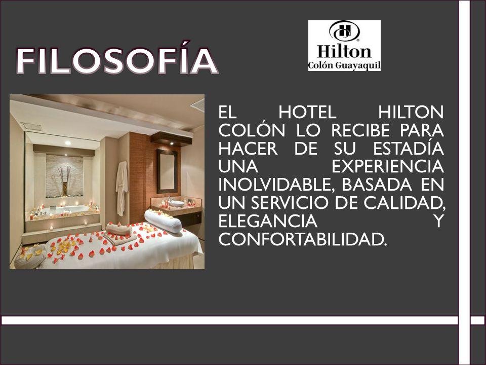 EL HOTEL HILTON COLÓN LO RECIBE PARA HACER DE SU ESTADÍA UNA EXPERIENCIA INOLVIDABLE, BASADA EN UN SERVICIO DE CALIDAD, ELEGANCIA Y CONFORTABILIDAD.