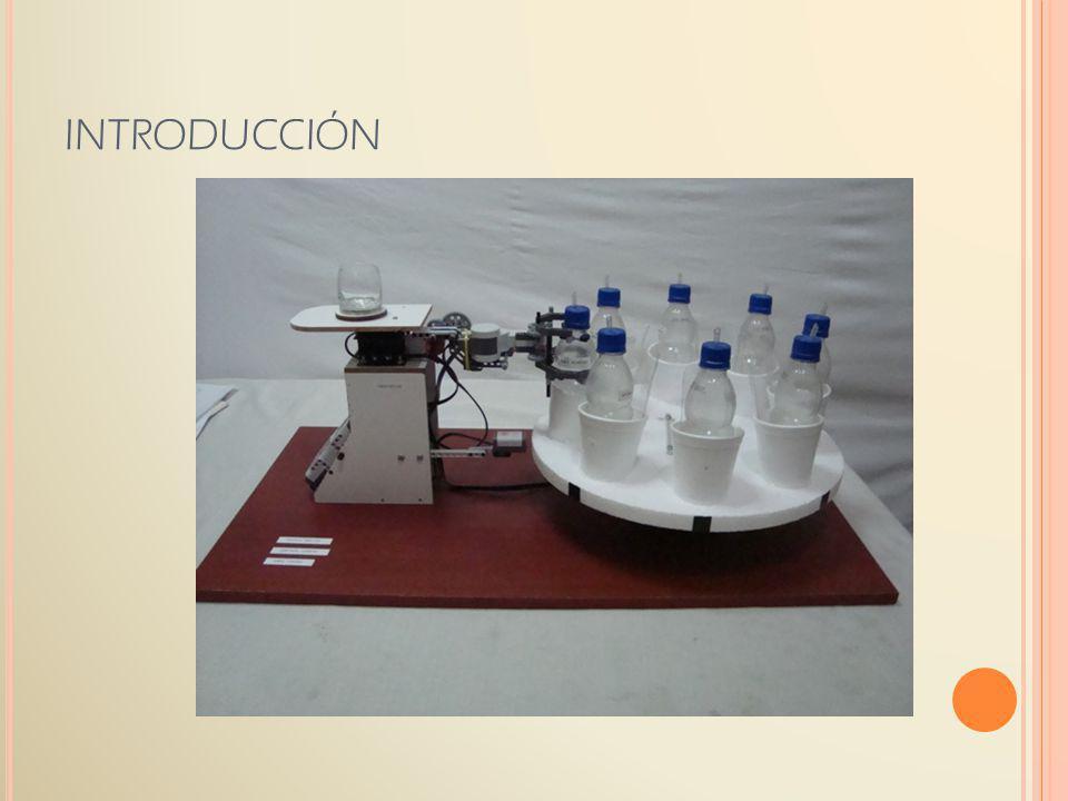 COCKTAILER esta compuesto de tres motores: Un motor (MOTOR A) para el movimiento de la bandeja giratoria, en donde se asientan las botellas que contienen las bebidas.