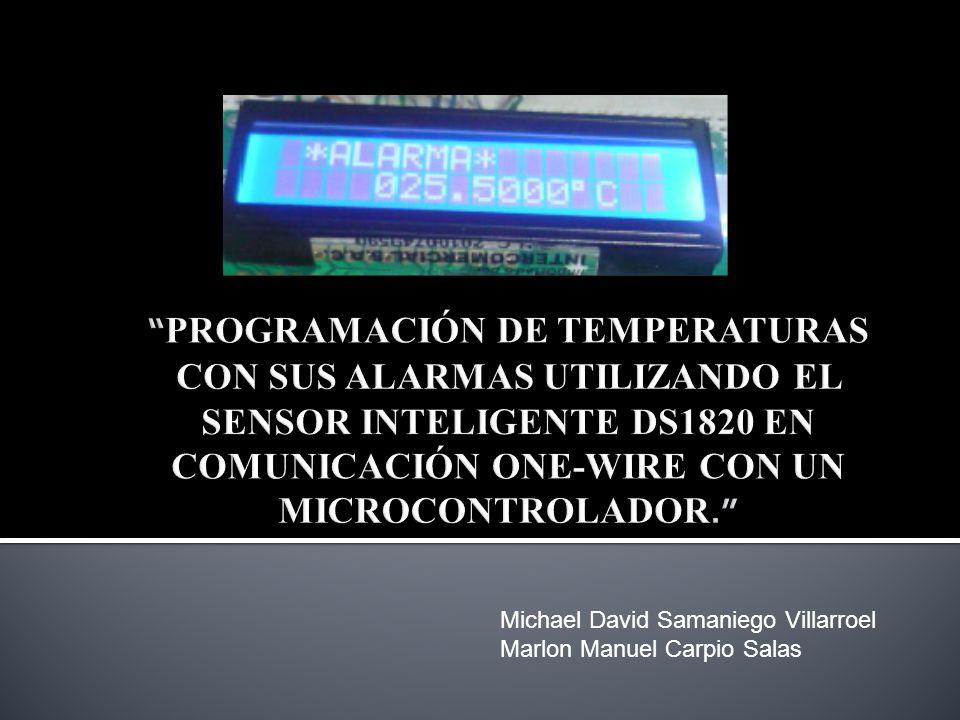 Michael David Samaniego Villarroel Marlon Manuel Carpio Salas