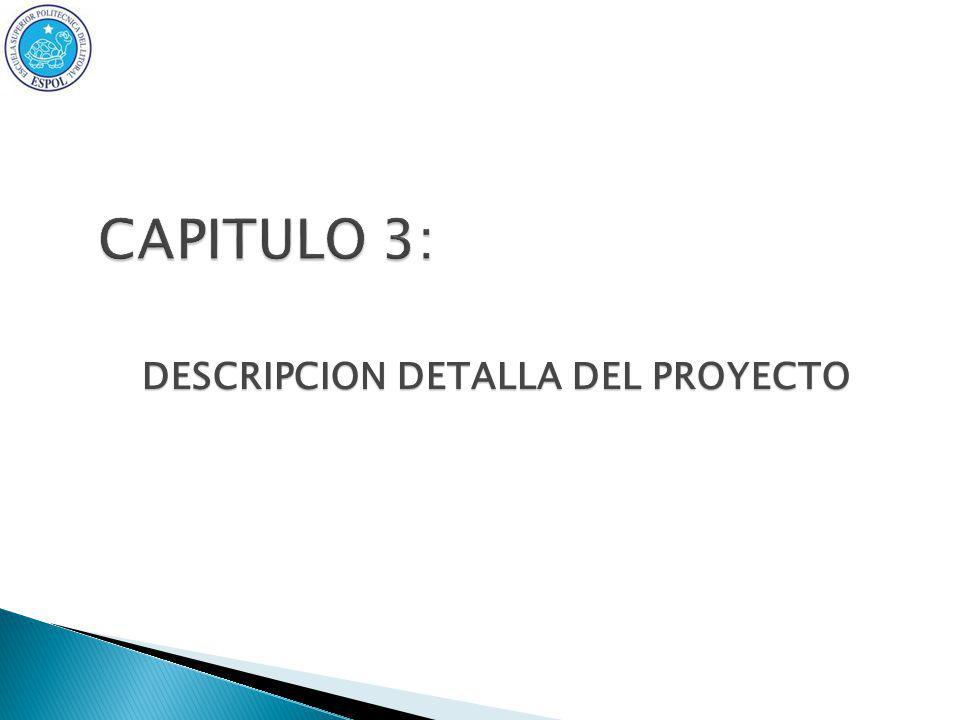 DESCRIPCION DETALLA DEL PROYECTO