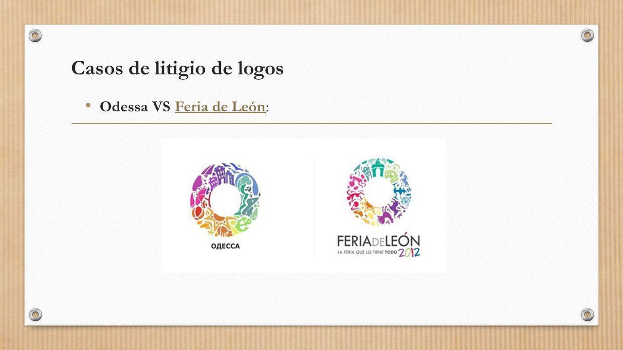 Casos de litigio de logos Odessa VS Feria de León: Feria de León