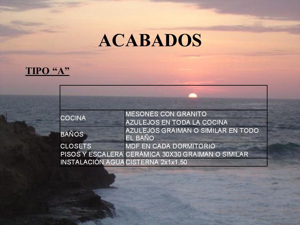 ACABADOS TIPO A