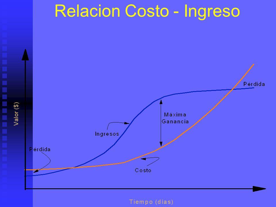 Relacion Costo - Ingreso