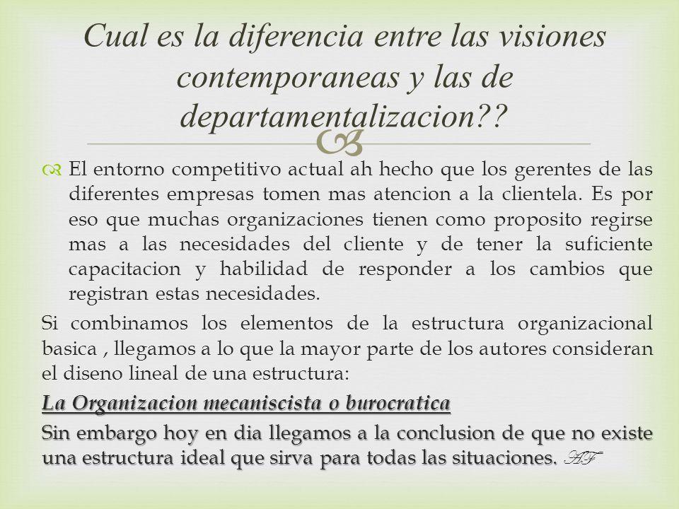 El entorno competitivo actual ah hecho que los gerentes de las diferentes empresas tomen mas atencion a la clientela. Es por eso que muchas organizaci