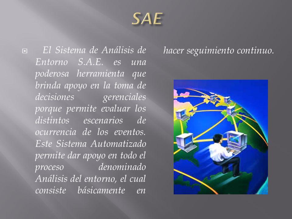El Sistema de Análisis de Entorno S.A.E.