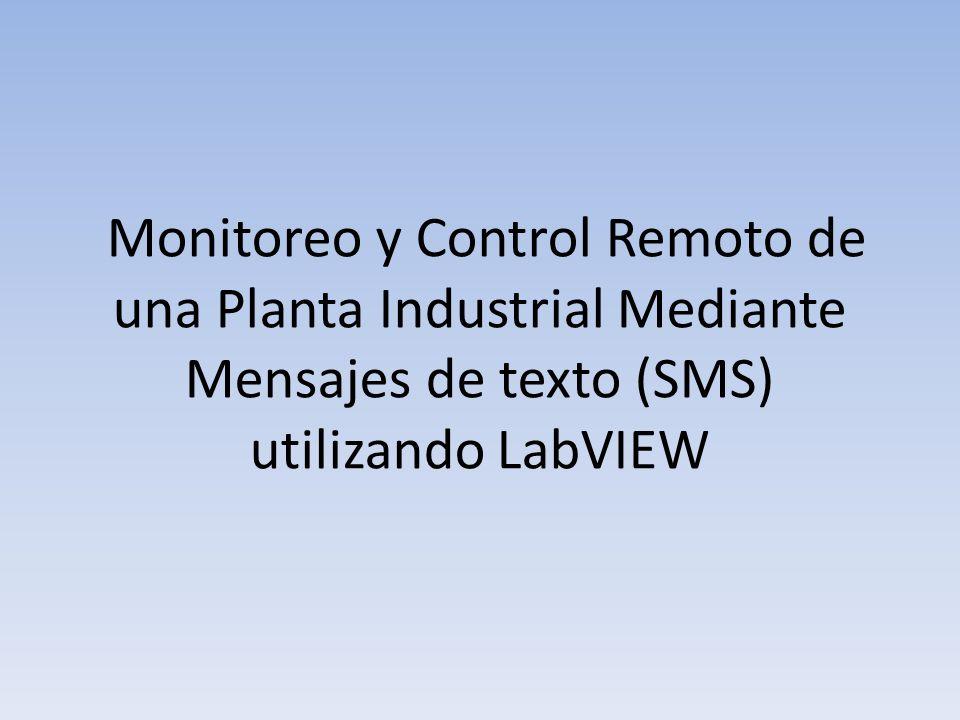 Objetivos Controlar y monitorear remotamente una planta industrial del laboratorio de instrumentación ESPOL.
