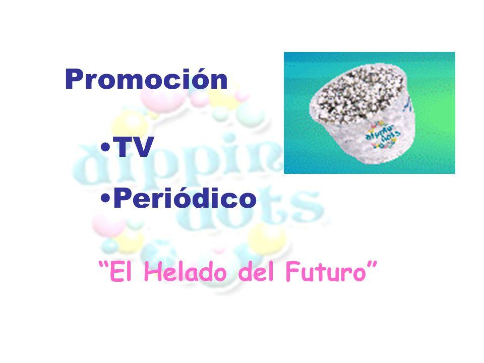 Promoción TV Periódico El Helado del Futuro
