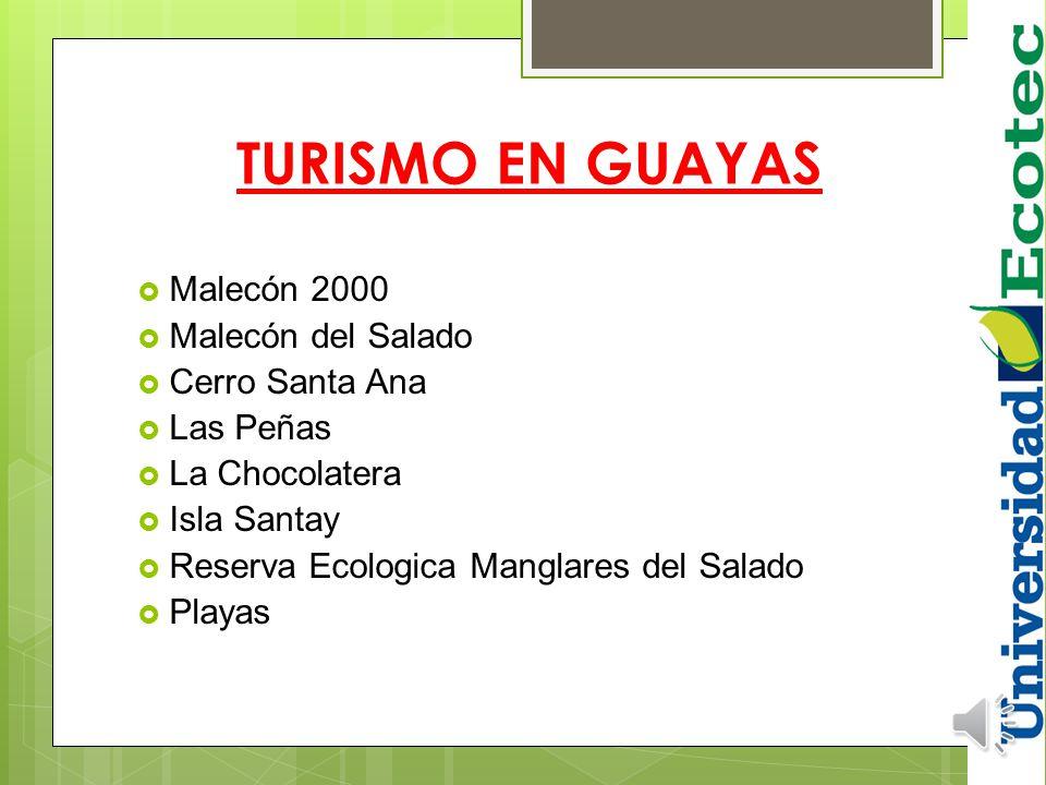 Guayas es la cuarta provincia más grande territorialmente, pero la más poblada. La capital Guayaquil es el centro económico, cultural y social de la p