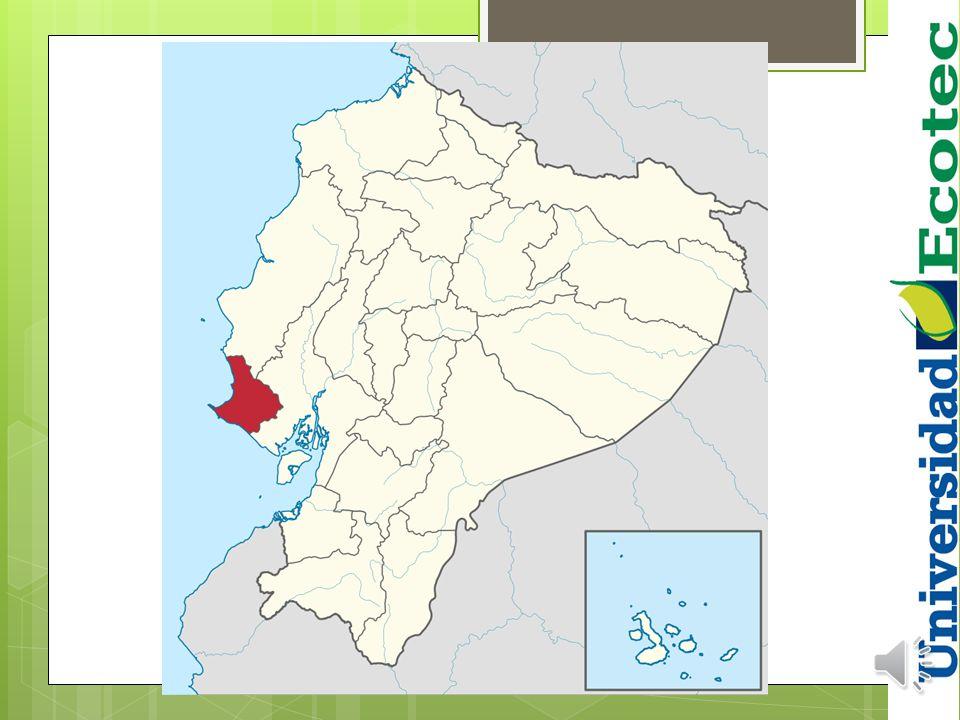 SANTA ELENA situado al oeste de la provincia y limita al norte con el cantón Puerto López de la provincia de Manabí, al sur con el Océano Pacífico y e