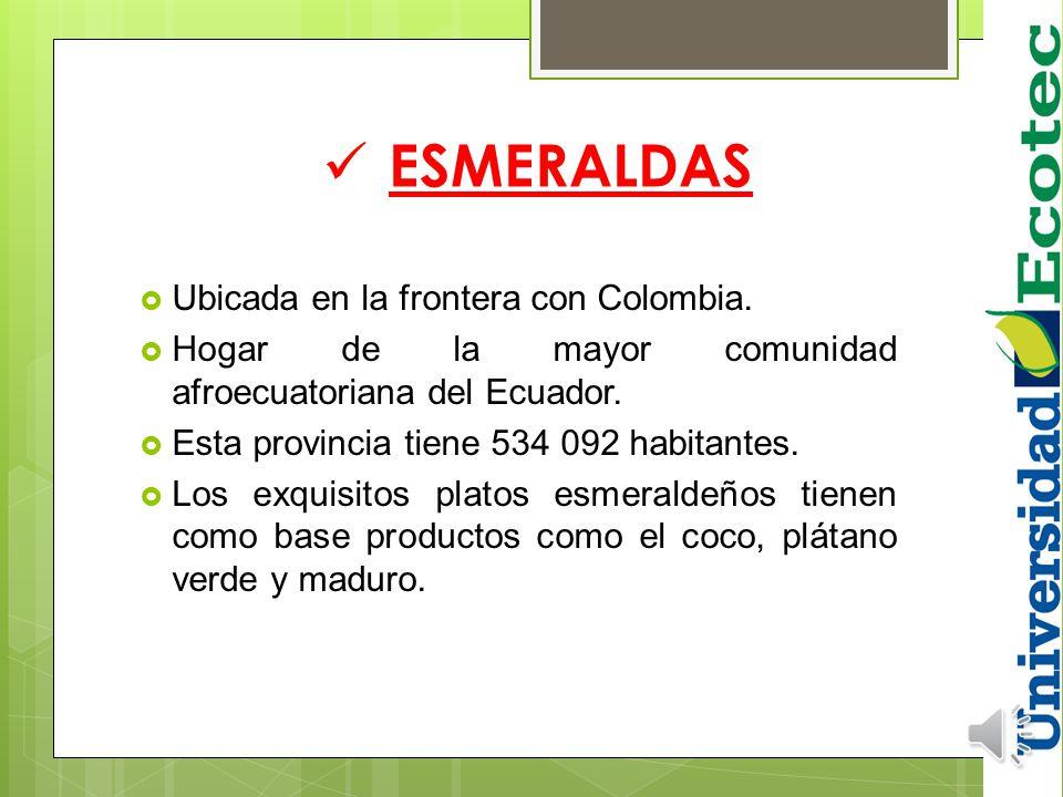 La Costa es una región que está localizada al oeste de la Cordillera de los Andes y está atravesada de norte a sur por una cadena montañosa de altura