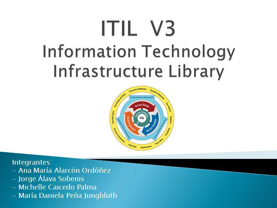 ITIL fue desarrollada a finales de 1980, se ha convertido en el estándar mundial de factores en la Gestión de Servicios Informáticos.