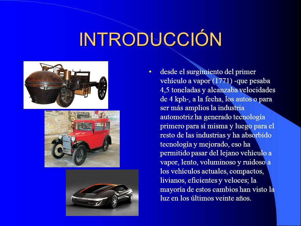 Desarrollo: La estructura metálica Según Andrino (2011) un vehículo posee un conjunto de sistemas, tales como el de motor, suspensión, frenado, etc.