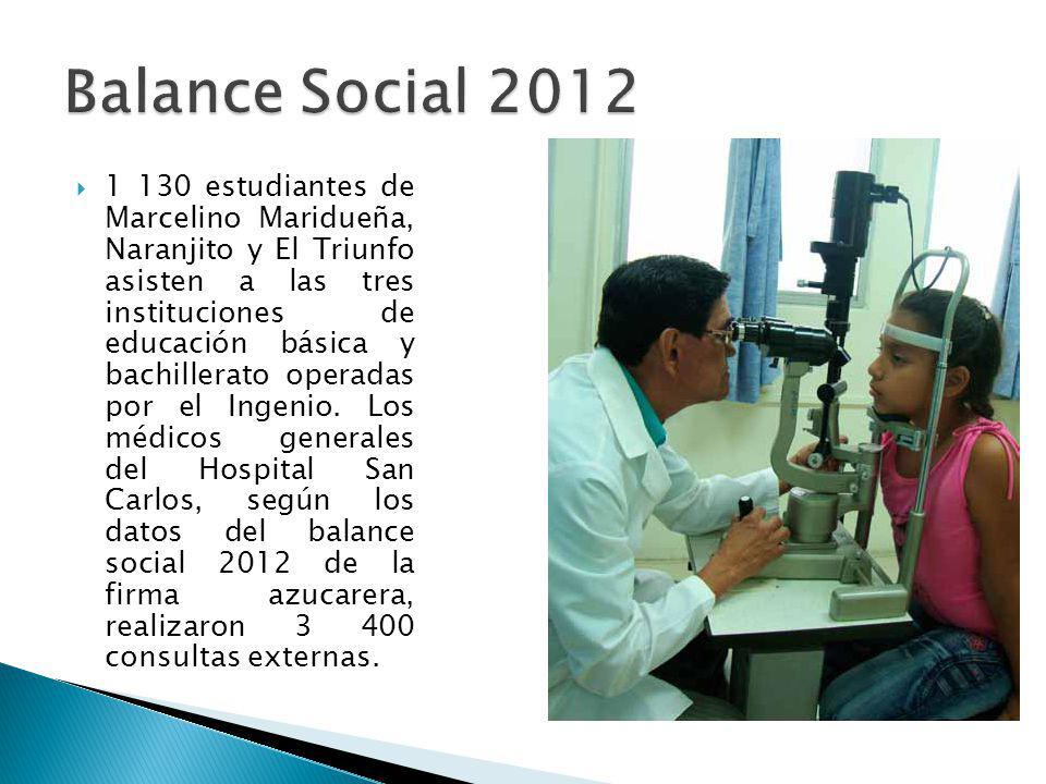 1 130 estudiantes de Marcelino Maridueña, Naranjito y El Triunfo asisten a las tres instituciones de educación básica y bachillerato operadas por el I