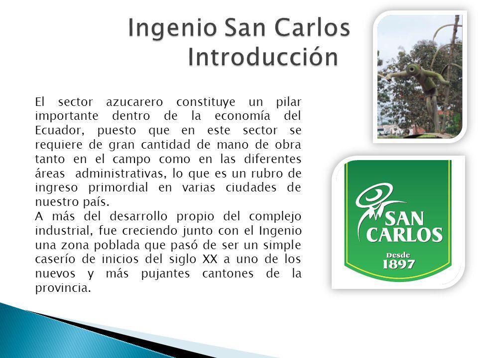 El sector azucarero constituye un pilar importante dentro de la economía del Ecuador, puesto que en este sector se requiere de gran cantidad de mano d