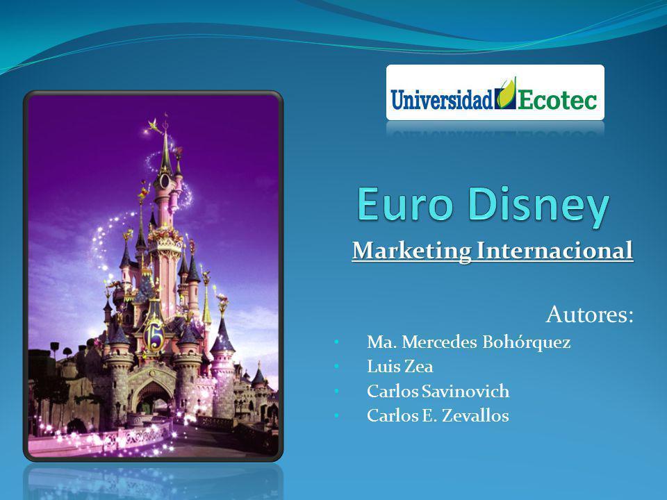 Marketing Internacional Autores: Ma. Mercedes Bohórquez Luis Zea Carlos Savinovich Carlos E. Zevallos