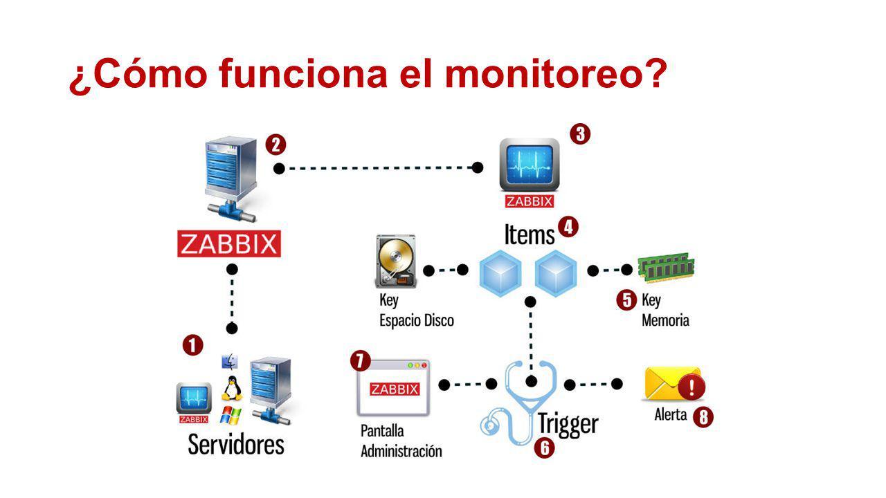 ¿Cómo funciona el monitoreo?