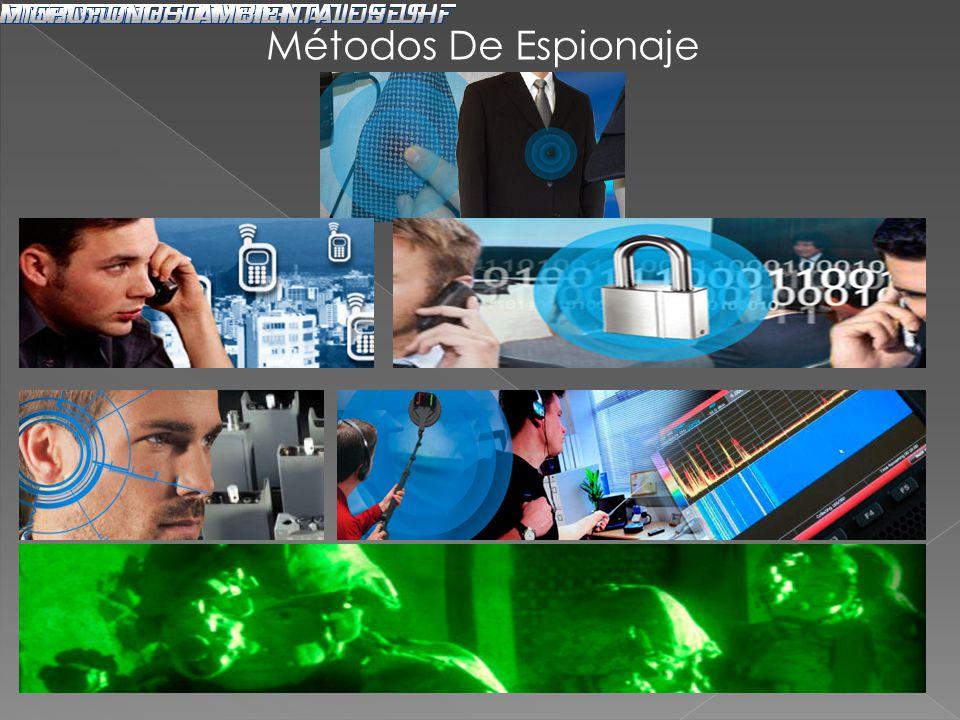 Métodos De Espionaje