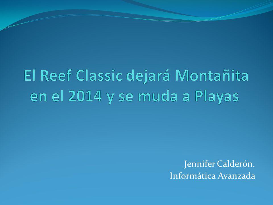 Jennifer Calderón. Informática Avanzada