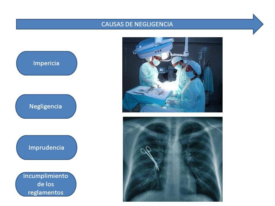 La responsabilidad medica: Es la obligación de los profesionales médicos de sufrir las consecuencias jurídicas de los actos profesionales, cuando sin intención dolosa causan daño a las personas por actuación culpable.