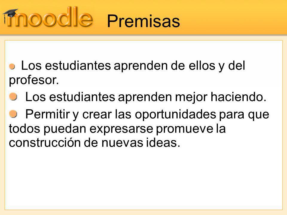 Glosario Crea una recopilación de los términos más usados en un curso.