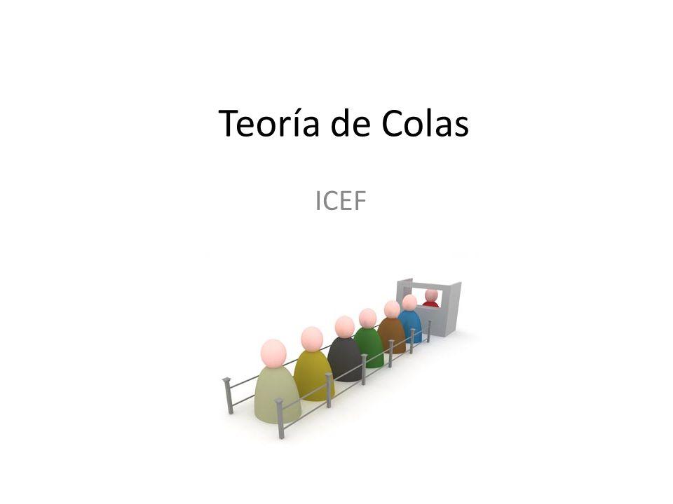 Teoría de Colas ICEF