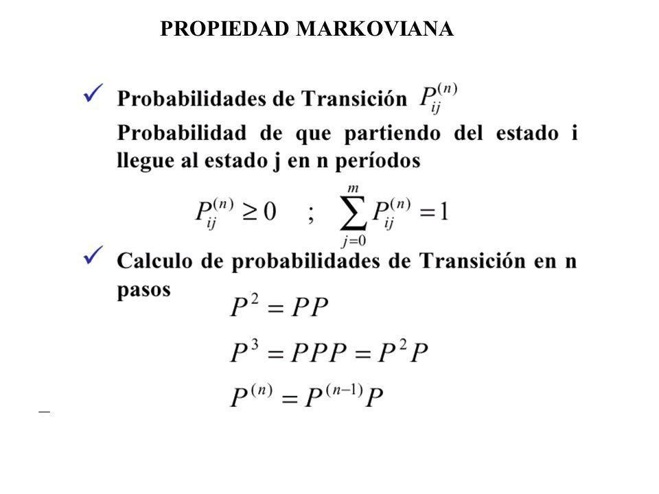 PROPIEDAD MARKOVIANA