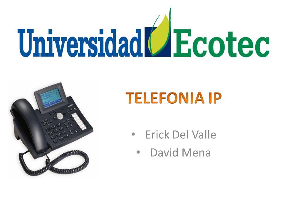 La Telefonía IP reúne la transmisión de voz y de datos, lo que posibilita la utilización de las redes informáticas para efectuar llamadas telefónicas.