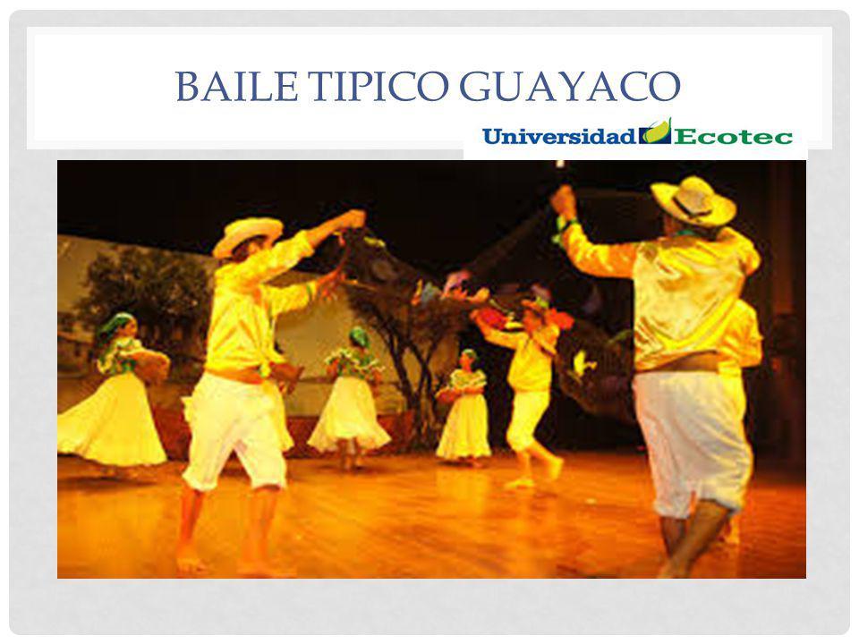 BAILE TIPICO GUAYACO