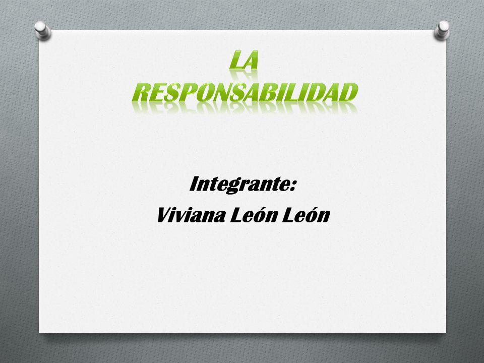 Integrante: Viviana León León