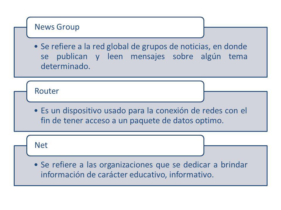 Se refiere a la red global de grupos de noticias, en donde se publican y leen mensajes sobre algún tema determinado.