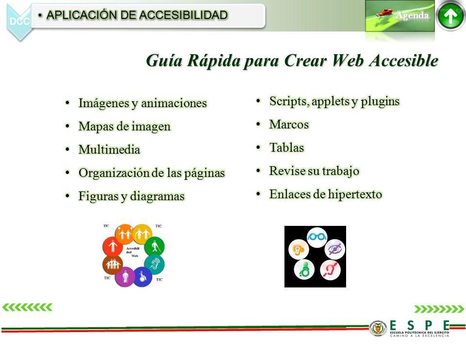 Guía Rápida para Crear Web Accesible