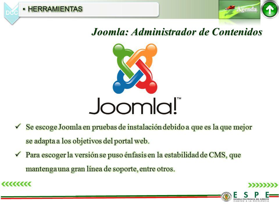 Joomla: Administrador de Contenidos