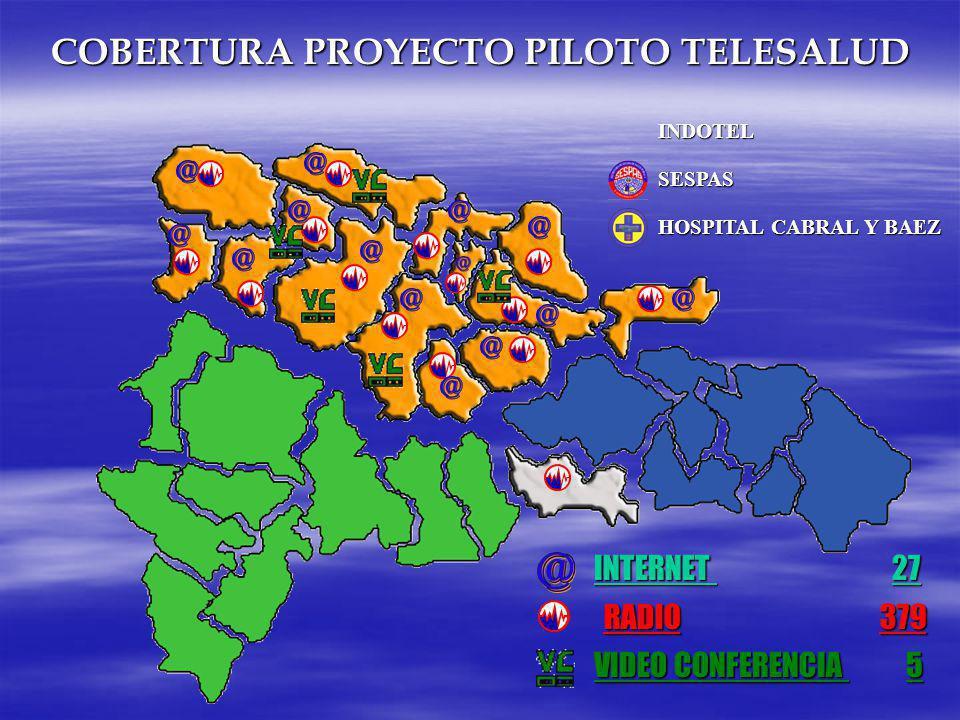 VIDEO CONFERENCIA 5 RADIO 379 INTERNET 27 COBERTURA PROYECTO PILOTO TELESALUD INDOTEL SESPAS HOSPITAL CABRAL Y BAEZ