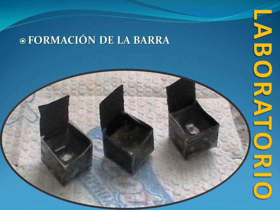 FORMACIÓN DE LA BARRA FORMACIÓN DE LA BARRA