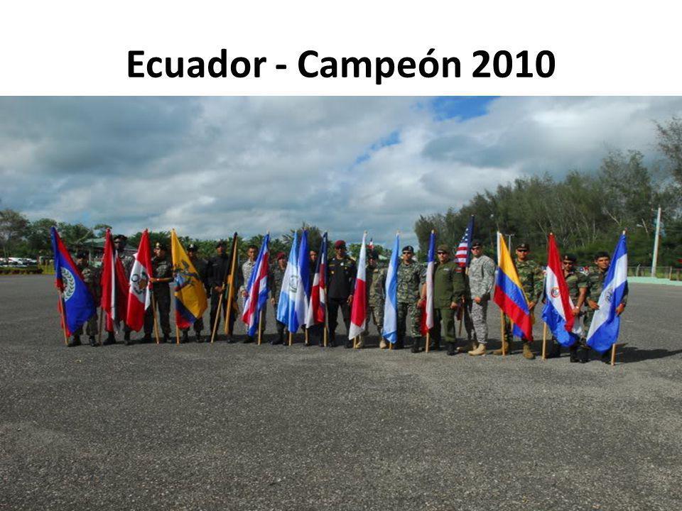 Ecuador - Campeón 2010
