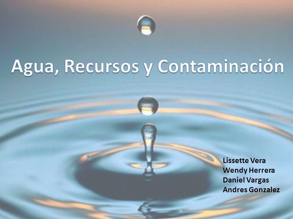 EL AGUA El agua es un recurso indispensable para los seres vivos y para los humanos.
