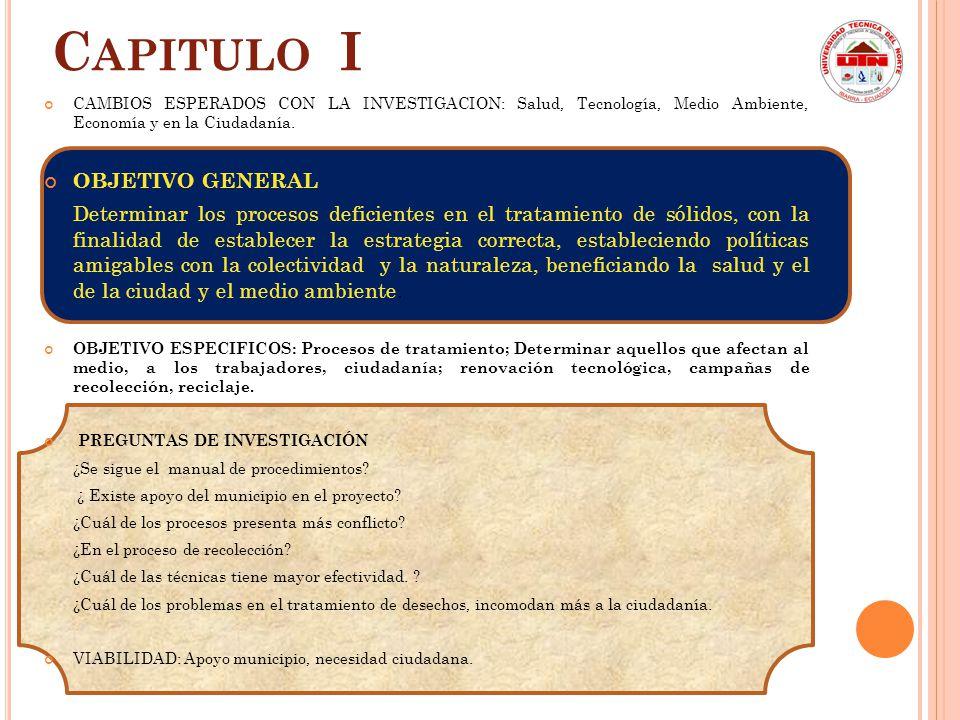PROPOSITOS C APITULO V PROPUESTA DE INVESTIGACION Asp.